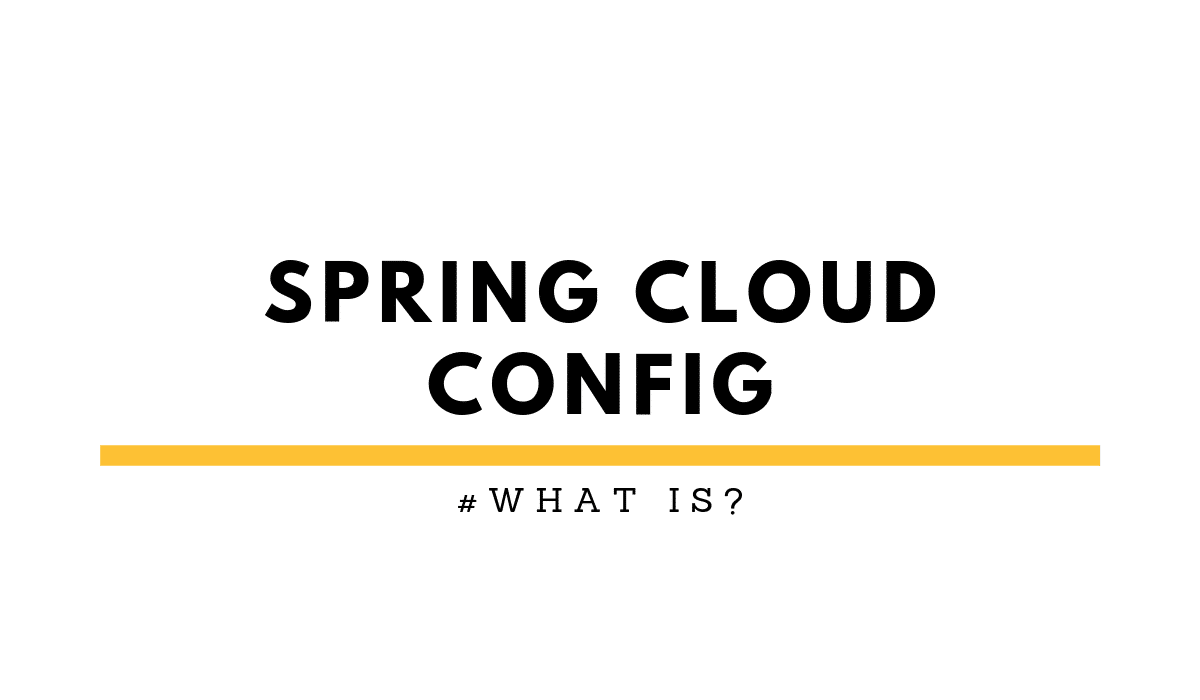 Spring Cloud Config Tutorial