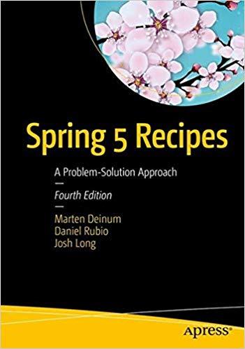 Spring 5 Recipes book