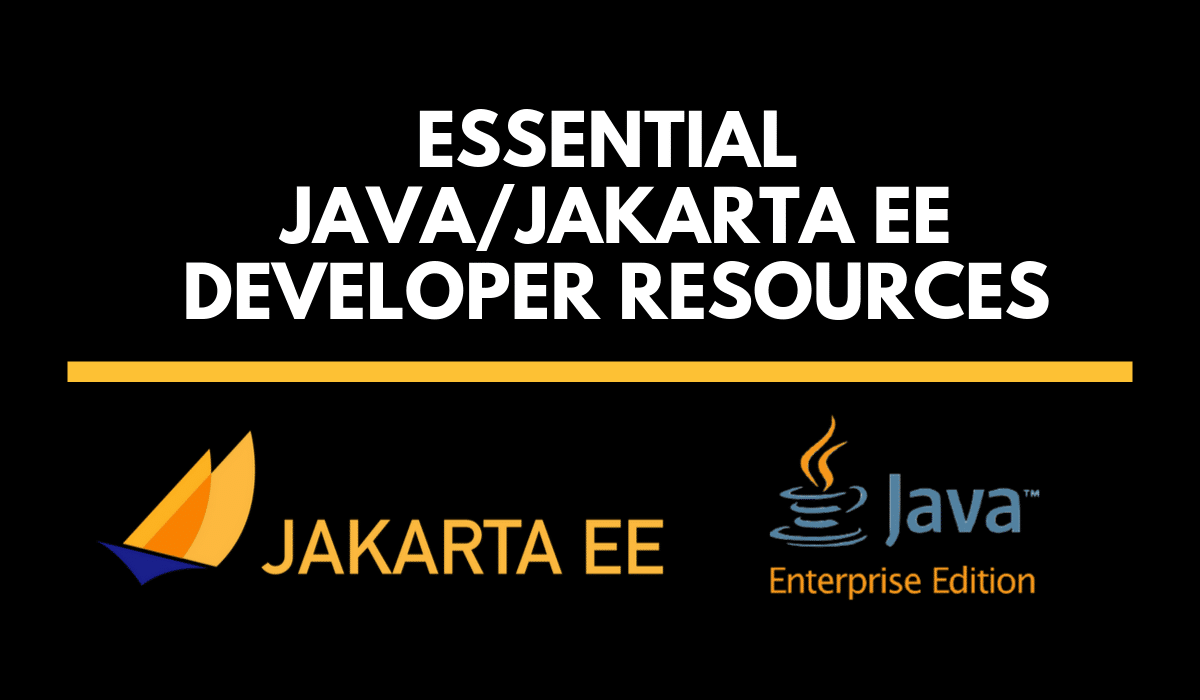 essentialJavaJakartaEEDeveloperResources
