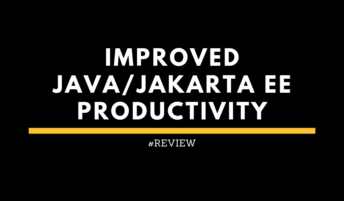 improvedJavaJakartaEEProductivity