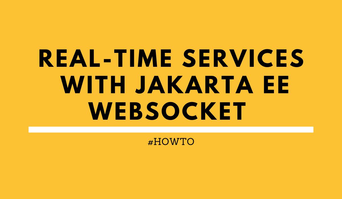 Jakarta EE WebSocket