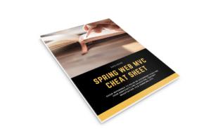 Spring Web MVC Cheat Sheet